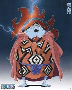 One Piece poster Shichibukai Jinbe http://www.abystyle-studio.com/en/one-piece-posters/326-one-piece-poster-shichibukai-jinbe.html