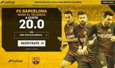 el forero jrvm y todos los bonos de deportes: betfair supercuota victoria del Barcelona al Valen...
