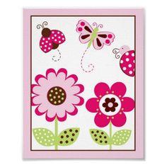 "flowers and butterflies ""garden party"""