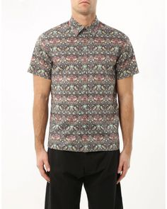 Shirt with floral print N°21