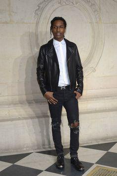 ASAP Rocky Photos - Front Row at the Christian Dior Show - Zimbio