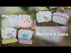 Doll Videos, Baby Flower, Art Bag, Couture, Cosmetic Bag, Diy And Crafts, Lunch Box, Patches, Pouch