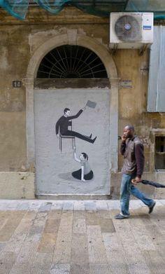 Street Artist: Escif in Valencia