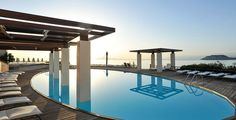 A five, seven or all-inclusive escape to an elevated five-star hideaway on the island of Crete, including all travel Crete Holiday, Beach Holiday, Crete Hotels, Greek Island Hopping, Destinations, All Inclusive, Hotel Spa, Greek Islands, Resort Spa
