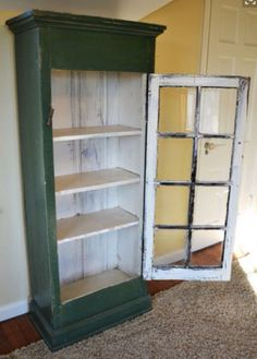 In Search Of: display cabinet built with an old window | hutches, display cabinets | St. Catharines | Kijiji