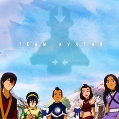 Gaang. Team Avatar