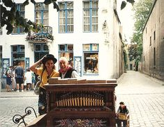La sonrisa de un viaje - Una de mis fotos preferidas. Brujas (Bélgica).