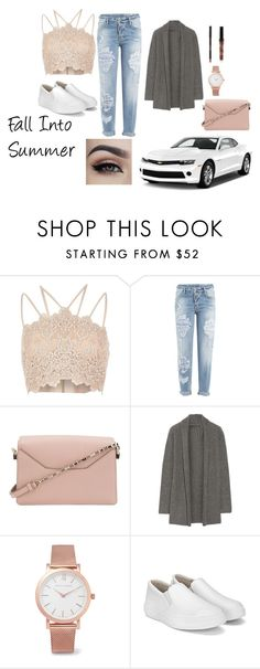 """""""Casual Fall ootd"""" by itsbrianasanders on Polyvore featuring River Island, Dsquared2, Valextra, The Elder Statesman and Larsson & Jennings"""