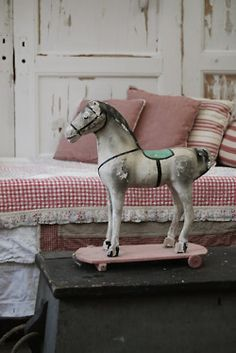 lovely old toy horse