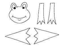 Výsledok vyhľadávania obrázkov pre dopyt žaba z papiera