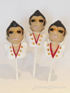 Bespoke cake pops, deliciously decorated to make the perfect tasty treat for any occasion! Serving London and the rest of the UK. Elvis Cakes, Elvis Presley Cake, Buy Birthday Cake, 70th Birthday, Birthday Ideas, Mini Cakes, Cupcake Cakes, Wedding Cake Pops, Wedding To Do List