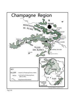 France: Champagne #Wine Region   by @wine_educators