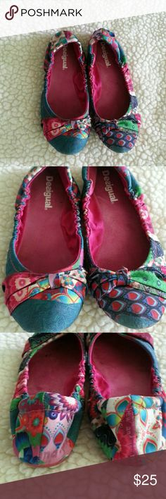 49326b08be29 Desigual...just for wekend 18 Fabriic ..good used condition Desigual Shoes