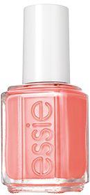Peach Side Babe - Soft Pink Peach Coral Nail Polish by Essie