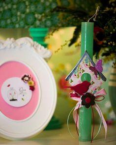 Λαμπαδες!!!! Easter Crafts, Christmas Ornaments, Holiday Decor, Diy, Bricolage, Christmas Jewelry, Do It Yourself, Christmas Decorations, Homemade
