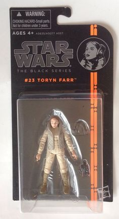 Star Wars The Black Series Toryn Farr Action Figure 3.75 Inches #23 #Hasbro