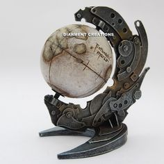 Steampunk Globe Lost Planet by Diarment.deviantart.com on @deviantART