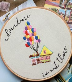 Hand Embroidery For Beginners Disney-Lovers! You'll Be Obsessed With These 10 Embroidery Hoops - Is there anything more inspiring than a good Disney quote? We love the idea of putting memorable Disney lines on embroidery hoops — it's a great way to Learn Embroidery, Hand Embroidery Stitches, Embroidery Hoop Art, Hand Embroidery Designs, Embroidery Techniques, Cross Stitch Embroidery, Embroidery Ideas, Diy Embroidery For Beginners, Ribbon Embroidery Tutorial