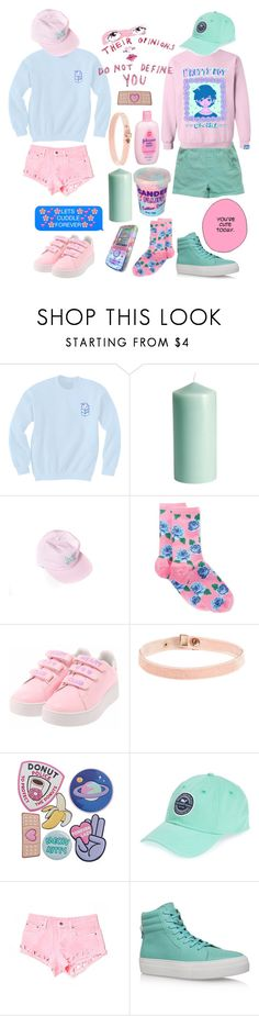 """""""{Good At Being Trouble}"""" by benevolent-bby ❤ liked on Polyvore featuring H&M, HOT SOX, Johnson's Baby, Cotton Candy, Vineyard Vines, Carmar, BUSCEMI and clotheshavenogender"""