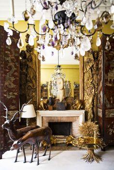 El apartamento parisino de Coco Chanel. Antic&Chic. Decoración Vintage y Eco Chic: [Decoración muy Chic] Una casa de alta costura