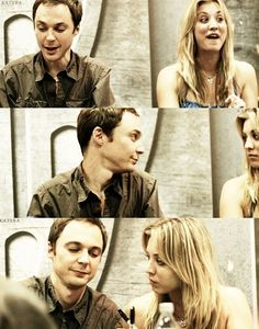 Jim Parsons and Kaley Cuoco. http://www.iqcatch.com/ (I like both both are good <3)