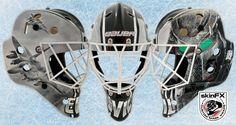 SkinFx Wrap Goalie Mask, Football Helmets, Masks, Face Masks