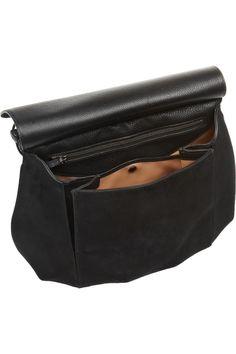 Gucci Fringed suede shoulder bag NET-A-PORTER.COM