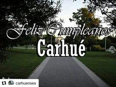 21 de enero , cumpleaño de Carhue