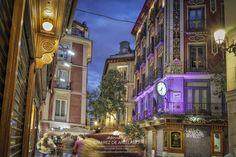 Study Abroad, Big Ben, Madrid, Times Square, Building, Travel, Shopping, Urban Landscape, Nocturne