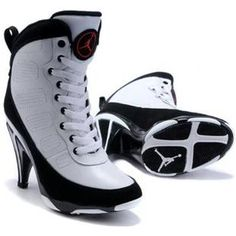 http://www.asneakers4u.com Air Jordan 9 High Heels Black White