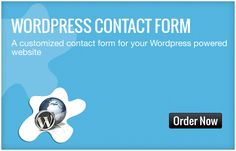 Want to add to fresh new contact form to your Wordpress powered website? Let us do this for you. We will be integrating a form according to your requirement in the page of your interest.
