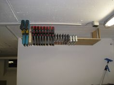 use magnetic wood to organize your tools http www 1. Black Bedroom Furniture Sets. Home Design Ideas