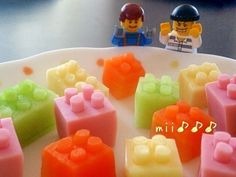 Lego blocks for bento!