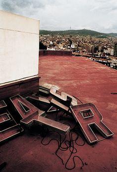 Markus Henttonen: Paral-lel City (2001) #photography #barcelona