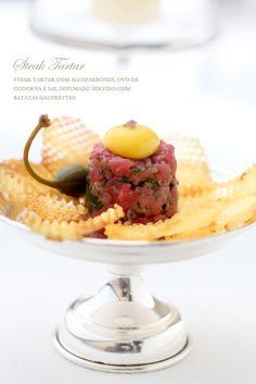 Casamento buffet - steak tartare (Buffet: Zest | Foto: Rogerio Voltan)