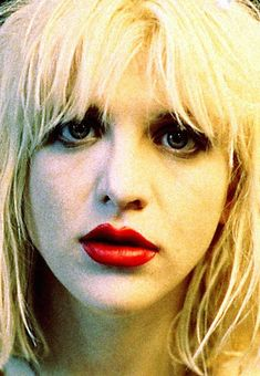 courtney love makeup - Google Search