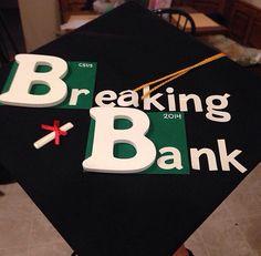 Breaking bad grad cap