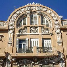 Art Nouveau Building, Melilla, Spain