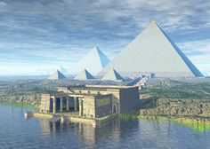 The Pyramid Temple at the Nile