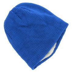faa1dfeb6ed Urban Pipeline Men s One Size Blue Cream Faux Fur Waffle Beanie NEW  20