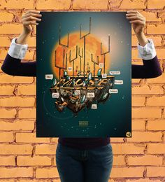 Confira a coleção de posters da Reverbcity: David Bowie, Muse, Ramones, Joy Division e Beatles
