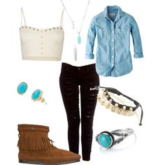 Can you do this pinterest outfit?  I may can pull this off with in a slightly different version