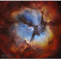 185 отметок «Нравится», 7 комментариев — Uzay Bilim Teknoloji (@kozmoloji1) в Instagram: «Üç Boğumlu Bulutsu(katalog adlarıylaMessier 20veyaM20veNGC 6514)Yaytakımyıldızında bulunan…»