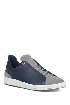JOE'S JEANS Joe Papa Leather & Suede Sneaker. #joesjeans #shoes Suede Sneakers, Casual Sneakers, Joes Jeans, Color Mixing, Lace Up, Nordstrom, Slip On, Sporty, Navy