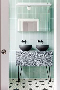 d999771b2 Badkamer Retro - Keukenhoff Tankens Mint Bathroom