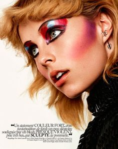Rock Me - Suzana Holtgrave's latest exclusive for L'Officiel Ukraine is titled 'Rock Me' and features Iconic Management model Maria. ...