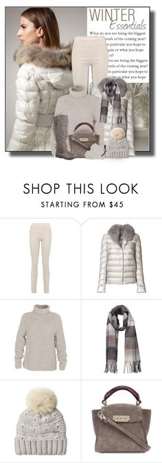"""""""Winter Essentials"""" by diva1023 ❤ liked on Polyvore featuring Donna Karan, Herno, TIBI, Overland Sheepskin Co., Woolrich and ZAC Zac Posen"""