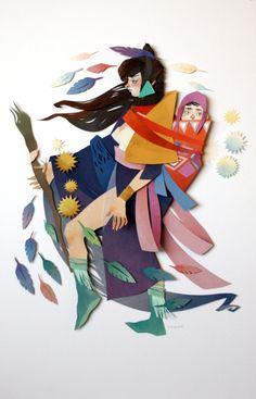 Яркие иллюстрации Морганы Уоллес (Morgana Wallace).