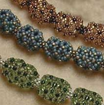 Free Pattern: Chain of Hollow Beaded Beads