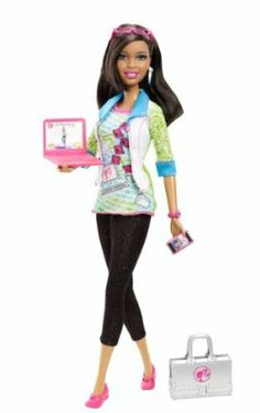 Barbie I Can Be Computer Engineer African-American Doll by Mattel. $37.67…
